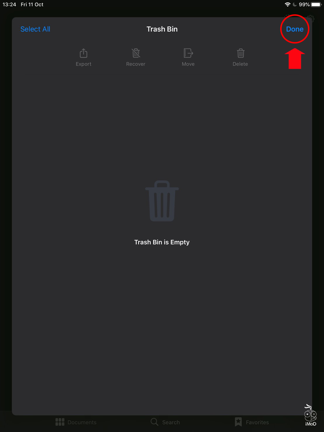 How To Delete Trash Goodnotes 5 05
