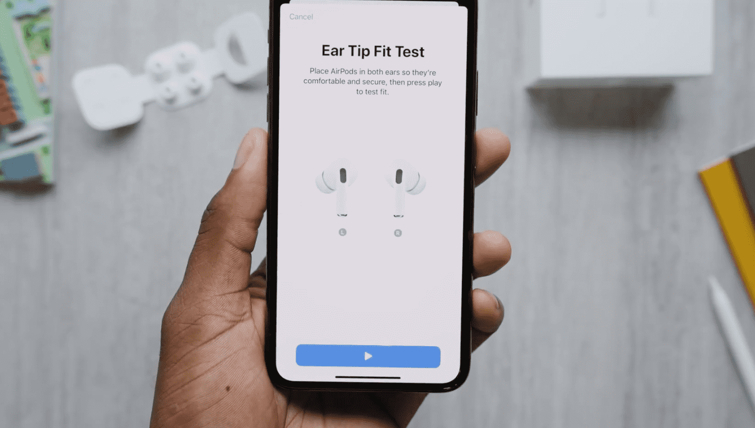 Airpods Pro Unboxing Youtuber Highlight Img 11
