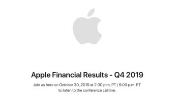 Apple Earnings Release Q4 2019 Date