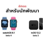 Apple Released Watchos 6 1 Beta 4 Tvos 13 2 Beta 3 Developer
