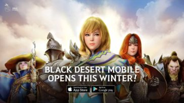 Black Desert Mobile Opens Winter