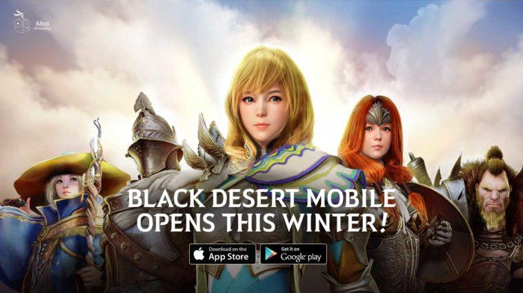 Black Desert Mobile Opens Winter