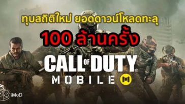 Call Of Duty Moible Downloaded 100 Million Time In A Week