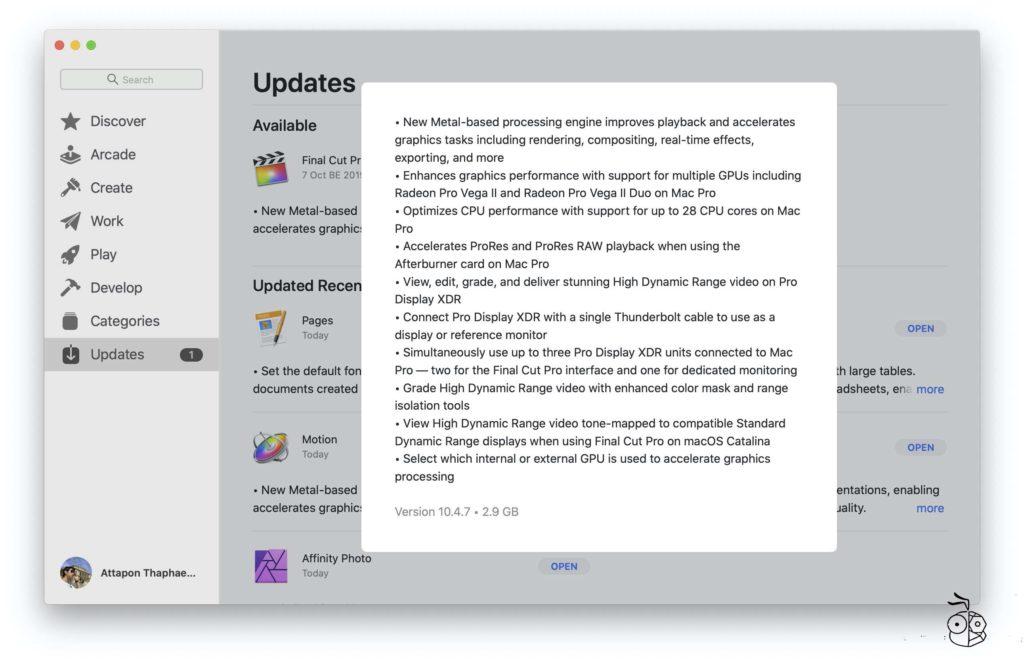 Final Cut Pro X Update 10 4 7 Version New Metal Engine 5