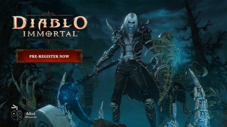 Game Diablo Immortal Cover