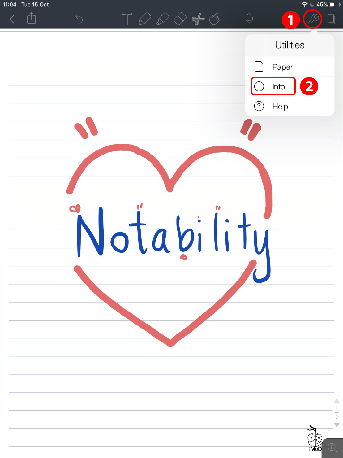 How To Check Date Time When Modify Notability 01