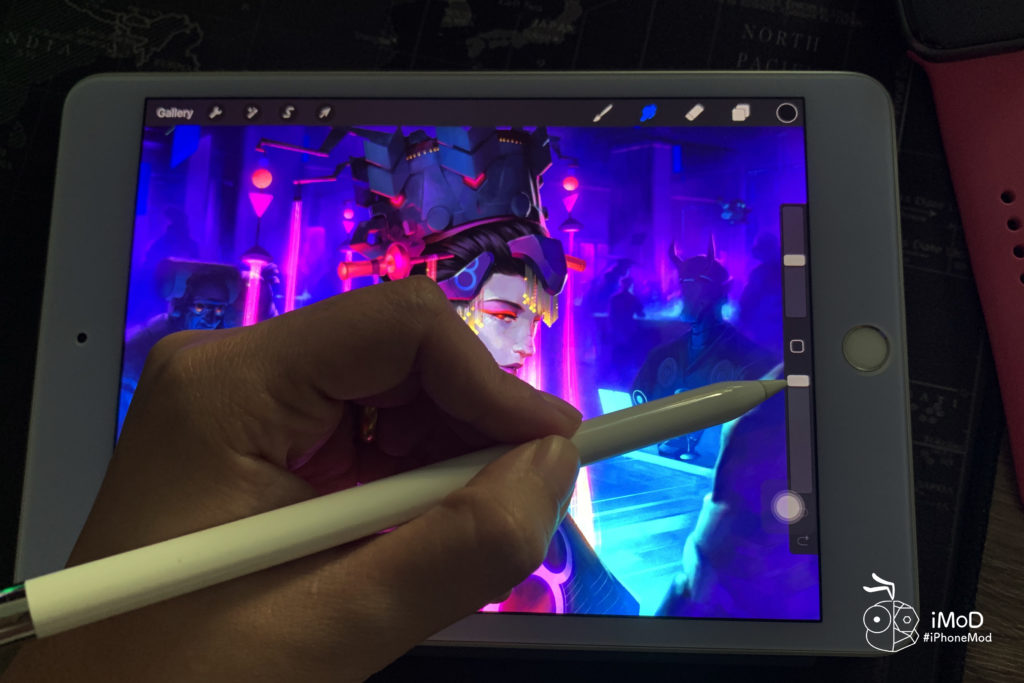 How To Move Brush Setting Right Hand Interface In Procreate Ipad 1