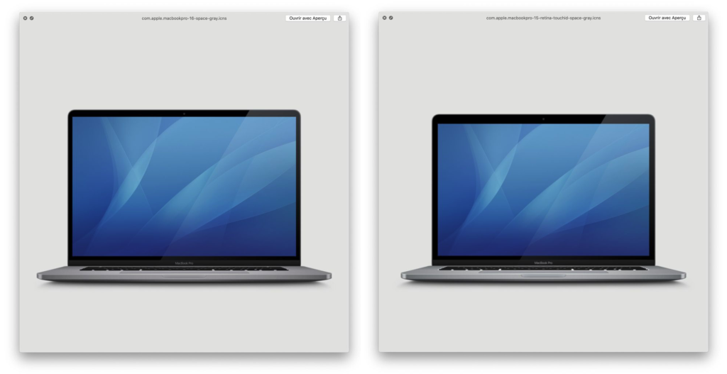 Icon Macbookpro 16 Inch Found Macos 10 15 1 Beta Img 1