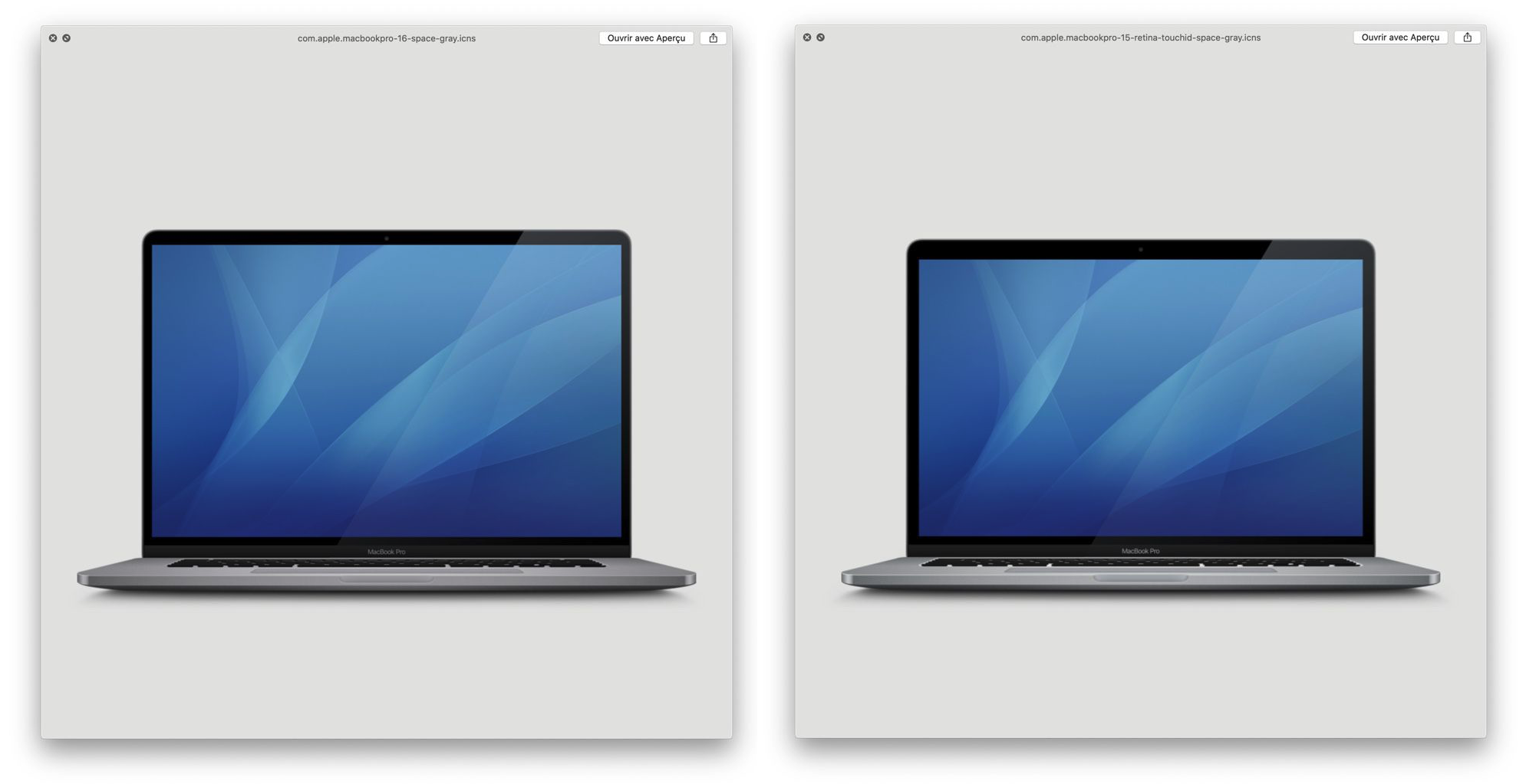 Icon Macbookpro 16 Inch Found Macos 10 15 1 Beta Img 1