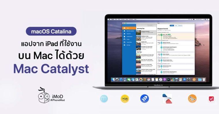 Ipad App Support Mac Catalyst