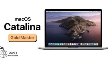 Macos Catalina Gold Master Released