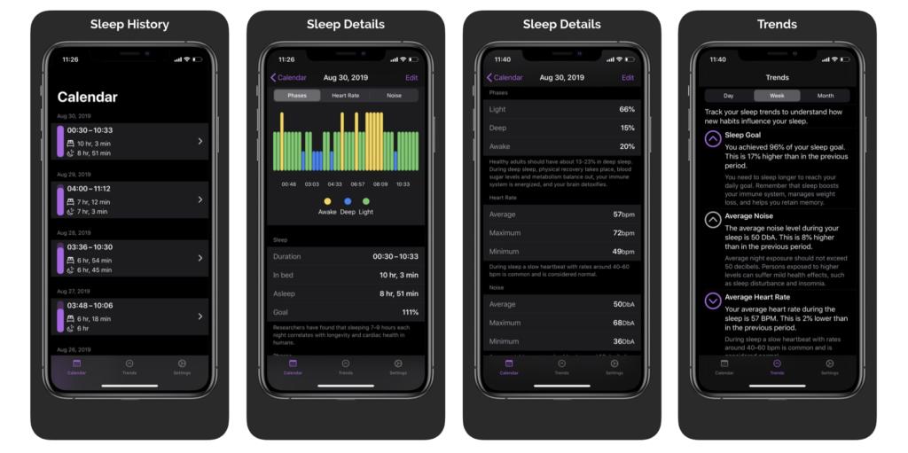 Napbot New Sleep App On Apple Watch Watchos 6 1