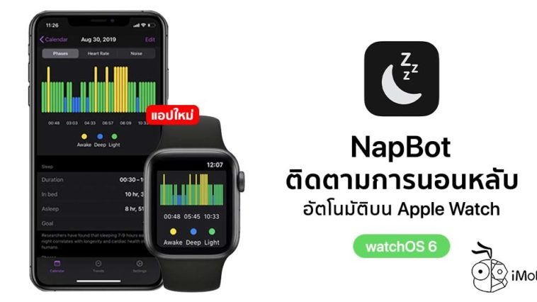 Napbot New Sleep App On Apple Watch Watchos 6