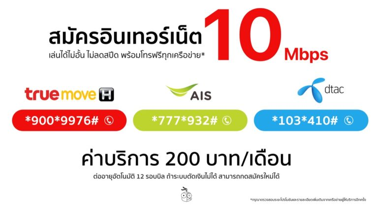 10mbps 200thb Small