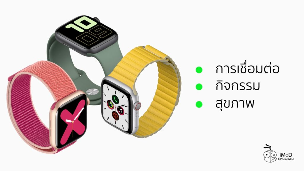 3 Pillar Apple Watch