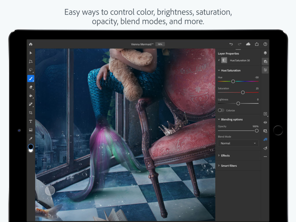 Adobe Photo Shop For Ipad Released 5
