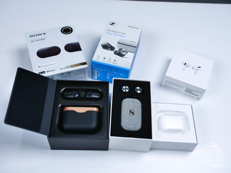 Airpods Pro Vs Sony Wf1000m3 Vs Sennheiser Momentum True Wireless 1014437