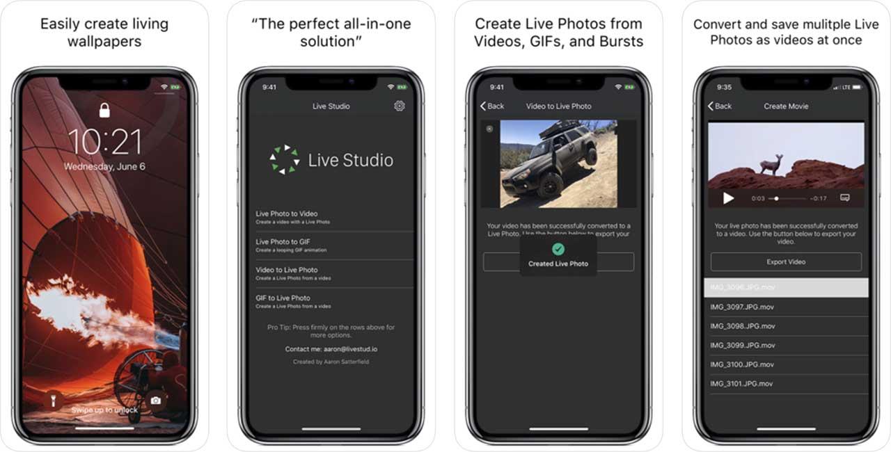 App Live Studio Content1