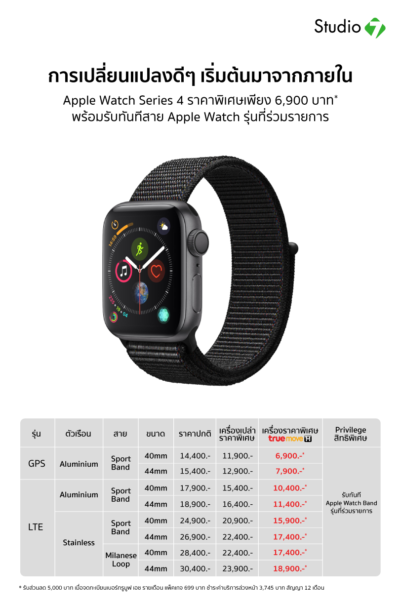 Apple Watch Series 4 17nov19