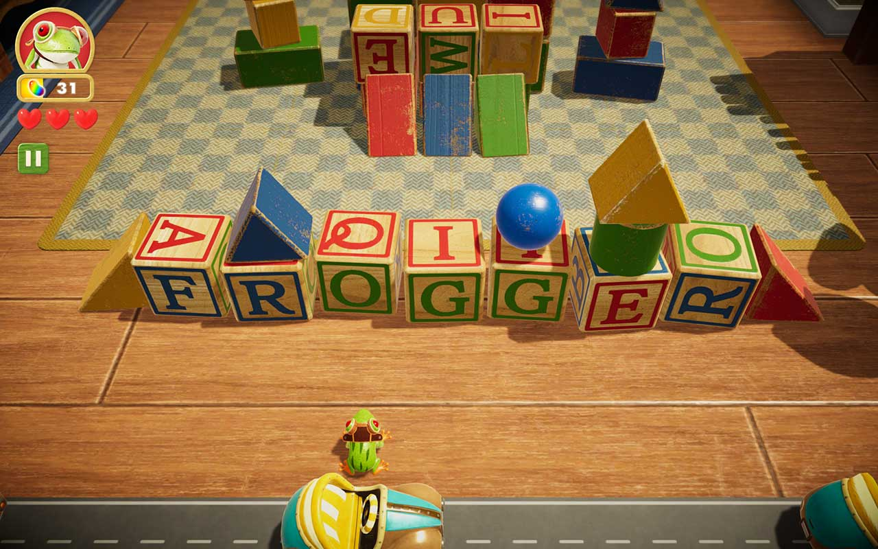 Frogger In Toy Town Apple Arcade 3