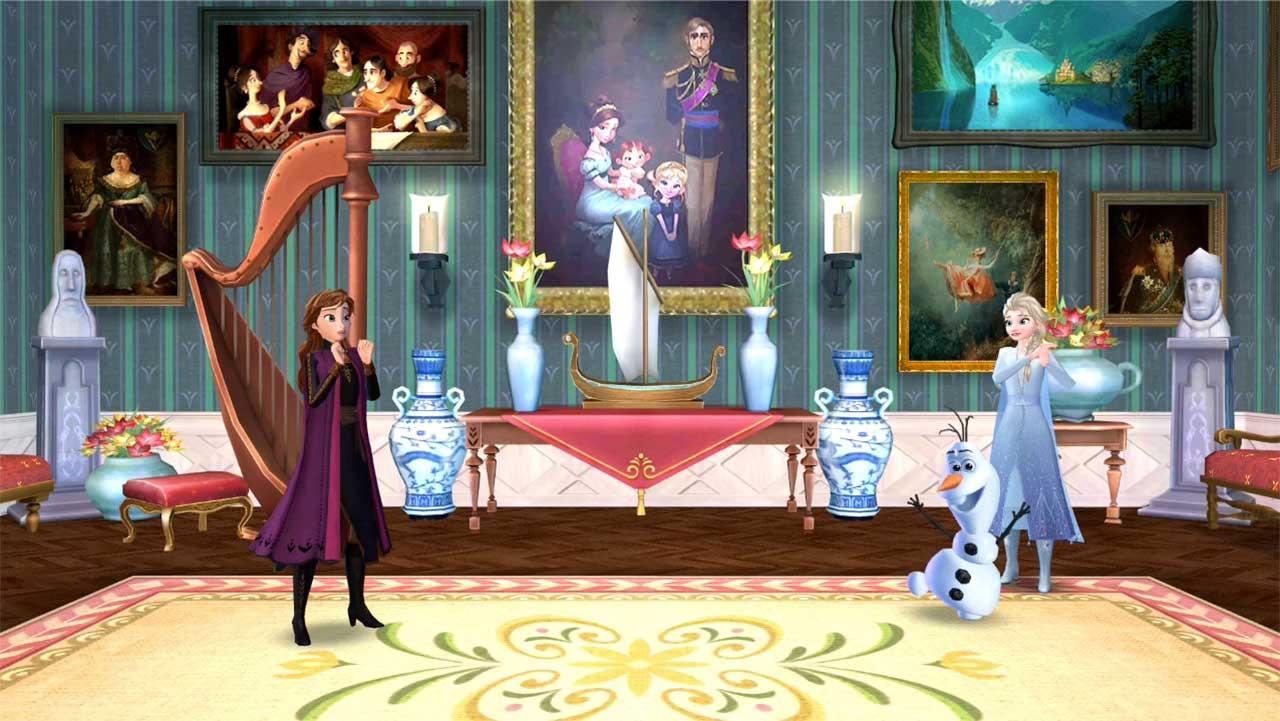 Game Disney Frozen Adventures 4
