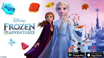 Game Disney Frozen Adventures Cover