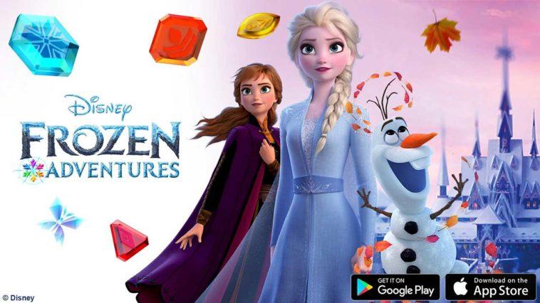 Game Disney Frozen Adventures Cover