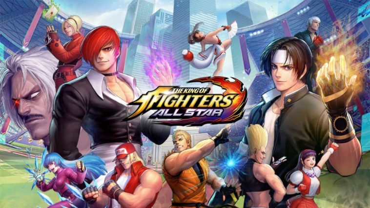 Game Kof Allstar Cover