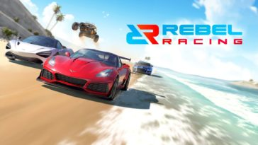 Game Rebel Racing Cover