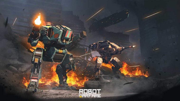 Game Robot Warfare Cover