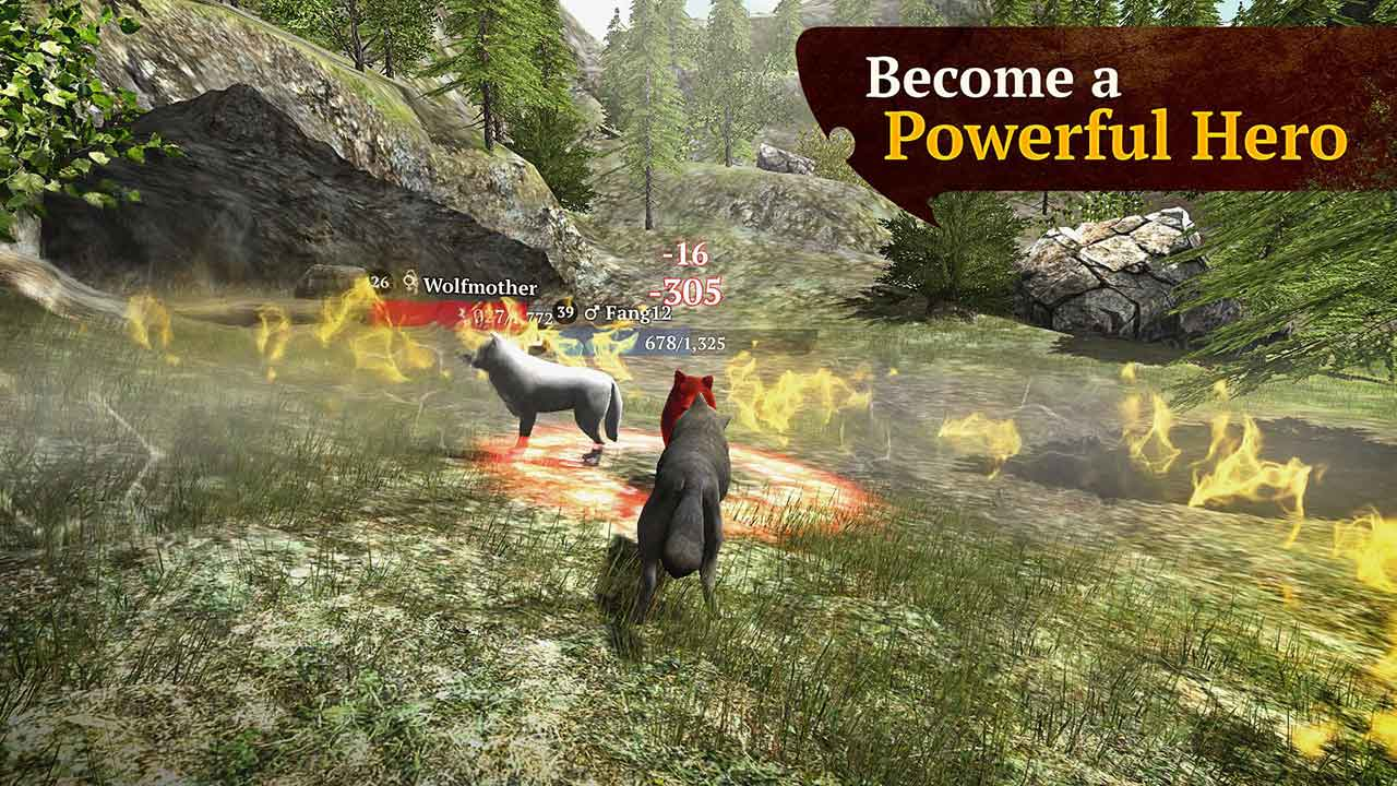 Game The Wolf Online Rpg Simulator 7