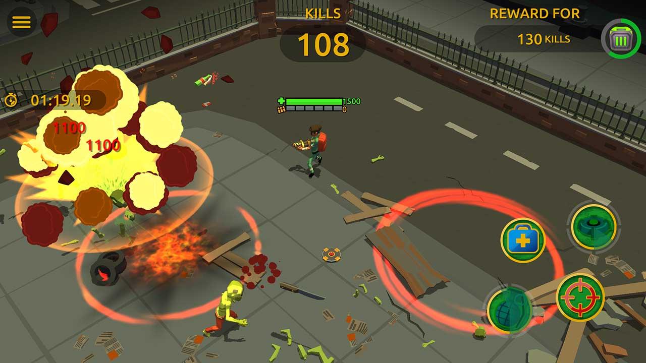 Game Zombie Blast Crew 1
