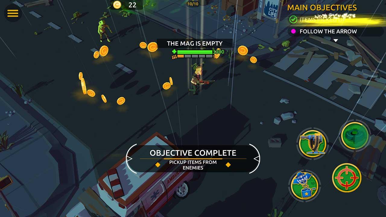 Game Zombie Blast Crew 4