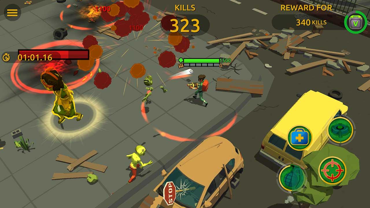 Game Zombie Blast Crew 6