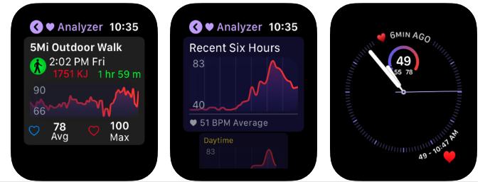 Heart Analyzer Update Version 7 2 New Interface 2