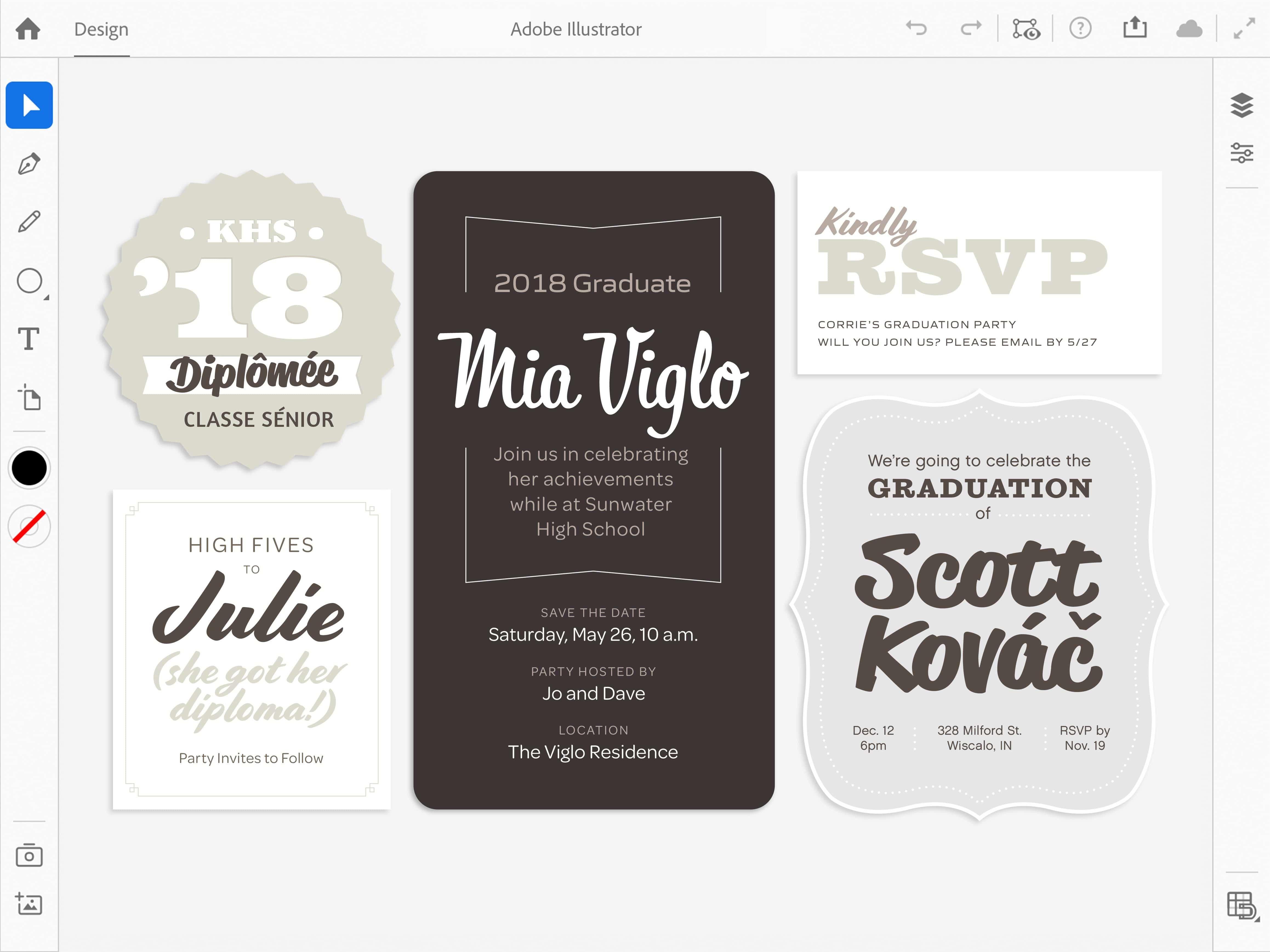 Illustrator Ipad Typography