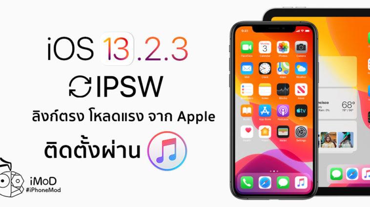 Ios 13 2 3 Ipsw