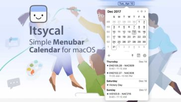 Itsycal Calendar For Cover
