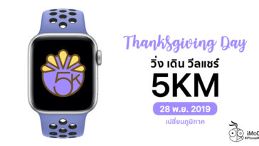 Thanksgiving Day 2019 Apple Watch Challenge