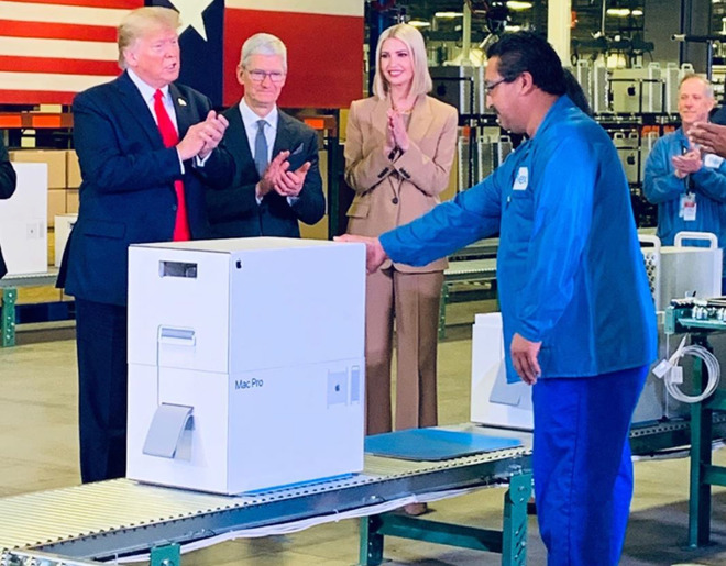 Trump Posts Details Mac Pro At Austin Factory Img 1