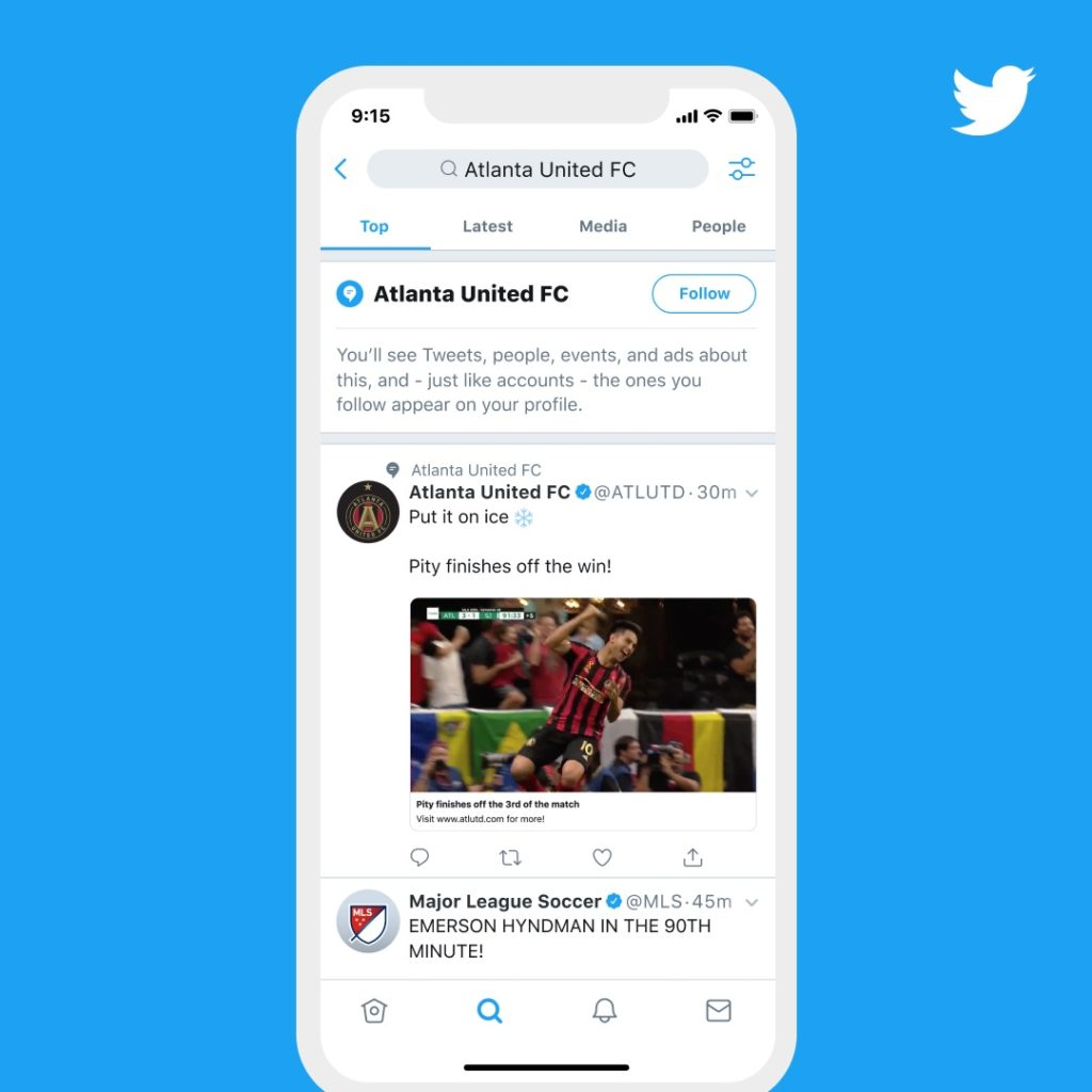 Twitter Debut Topic New Feature Feed Interesting To User 2