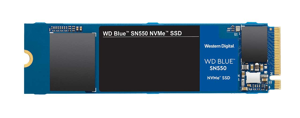 Wd Blue Sn550 Ssd Flat 2
