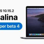 Apple Released Macos Catalina 10 15 2 Developer Beta 4