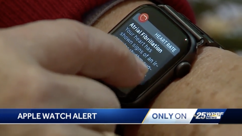 Apple Watch Save Florida Man 74 Years Old Afib Notification 2