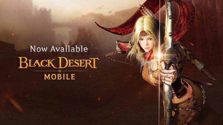 Black Desert Mobile Now Available Cover