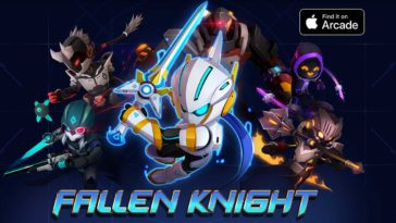 Fallen Knight Apple Arcade Cover