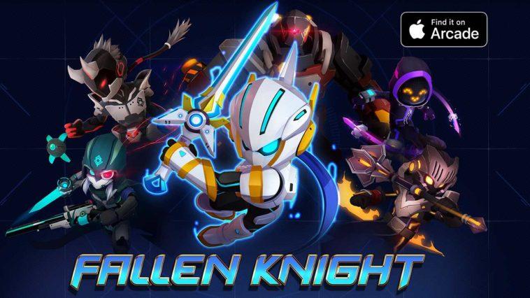 Fallen Knight Apple Arcade Cover
