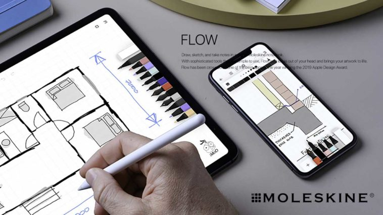Flow By Moleskine Cover