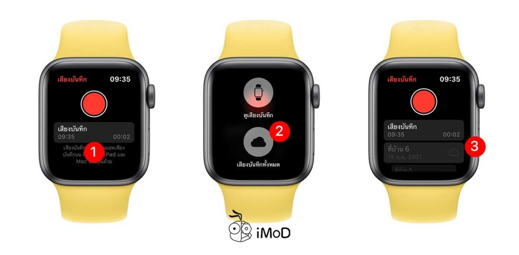 How To Use Record On Apple Watch Watchos 6 4