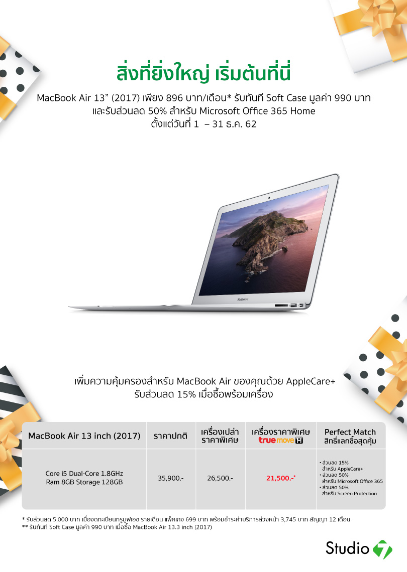 Macbook Air 13 Inch Model 2017 Sale 31dec19